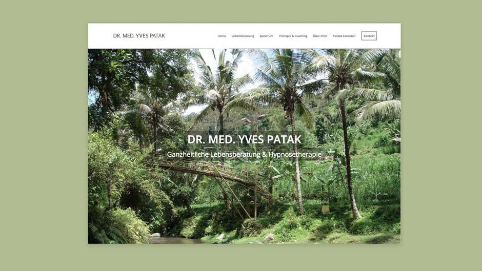 Dr med Yves Patak