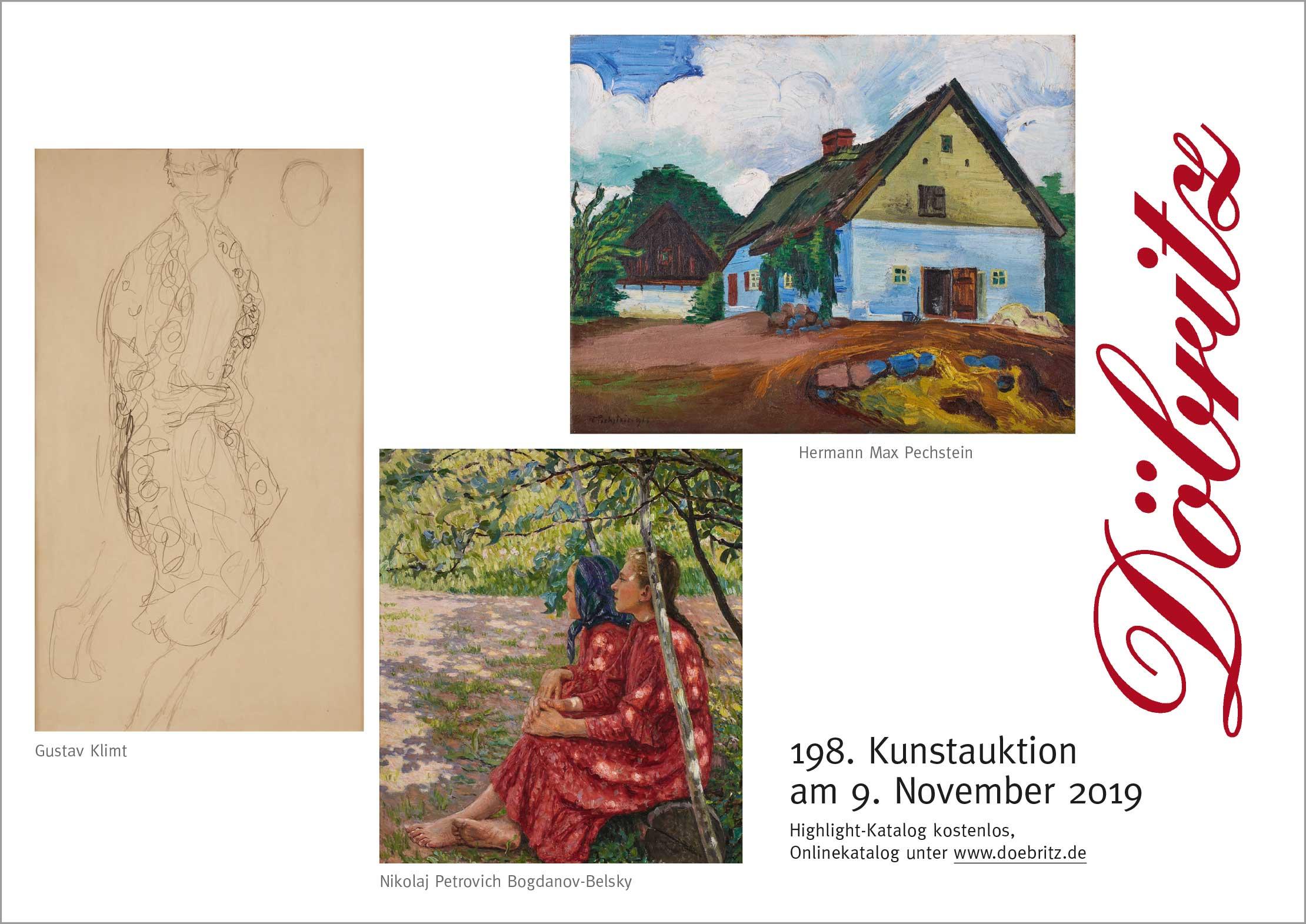 198. Kunstauktion